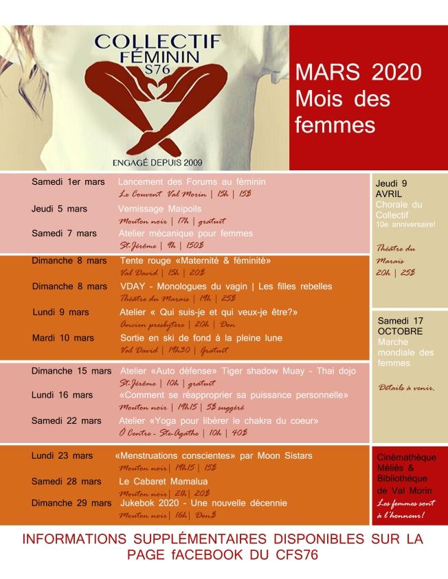 Poster CFS76 2020